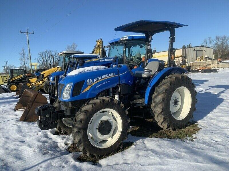 New Holland Workmaster 70 4wd tractor