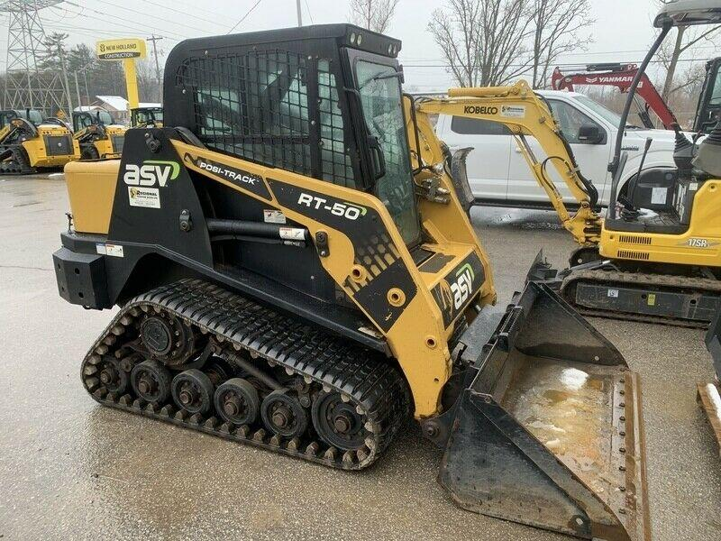 ASV RT50 compact track loader DEMO SPECIALS