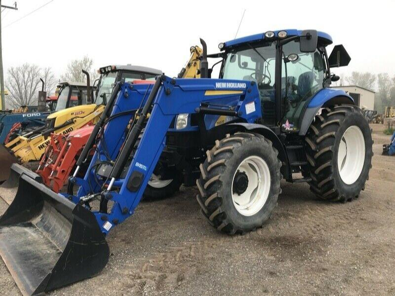 2011 New Holland T6020 Plus 4WD Tractor