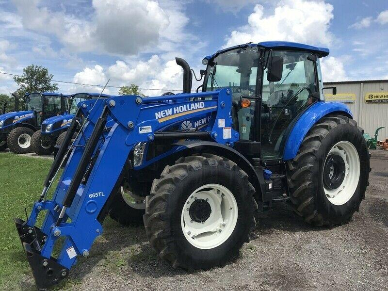 2018 New Holland T4.90 Loader Tractor