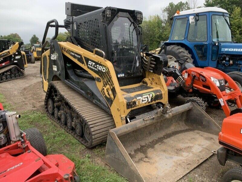 2017 ASV RT-120F Compact Track Loader