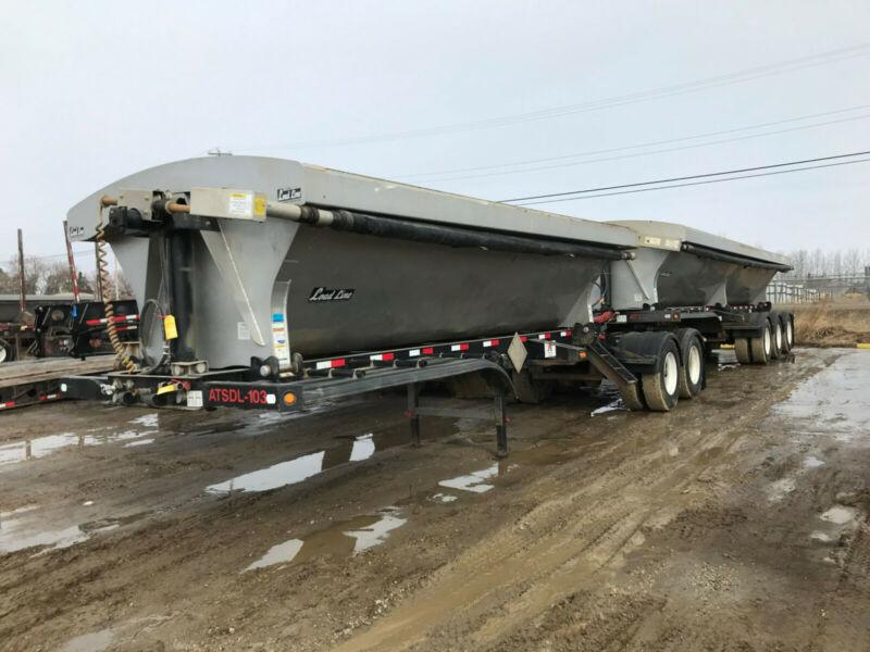 2018 Loadline Super B Side Dump Gravel Trailers PRICE REDUCED
