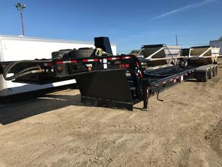 2012 Gerry's Tridem Hydraulic Tank Cradle Trailer