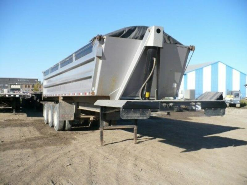 Tri End Dumps Gravel Trailers for Sale or Rent