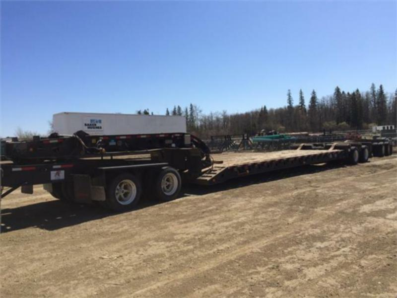 40 Wheeler Low Boy Equipment Trailer with jeep  & booster combo