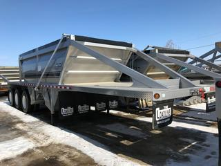 New Never Used 2018 Loadline 38' Cross-Gate Belly Dump Gravel Trailer