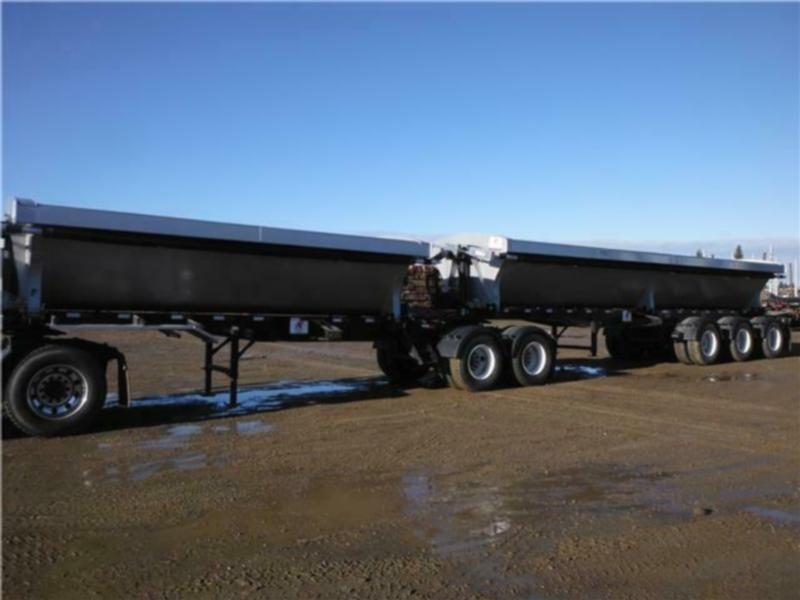 Side Dump Gravel Trailers